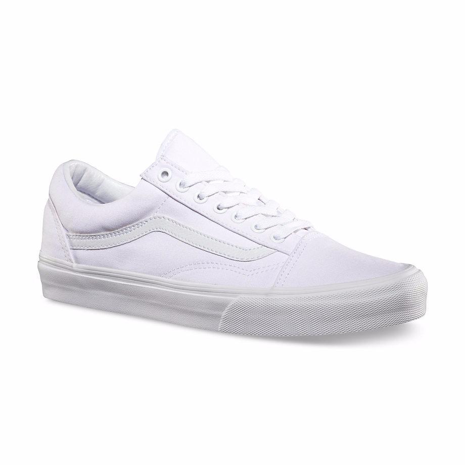 zapatillas vans old skool blancas