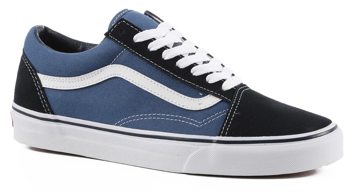 e93d905015 zapatillas vans old skool blue azules originales local. Cargando zoom.