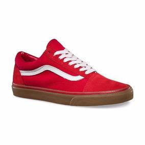 2vans hombre old skool rojas
