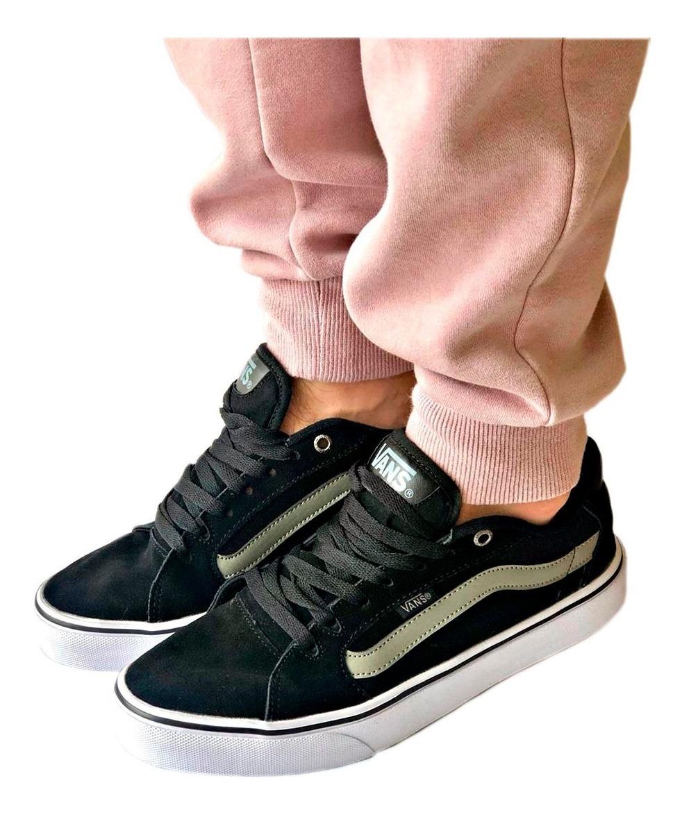 zapatillas vans old skool hombre gris