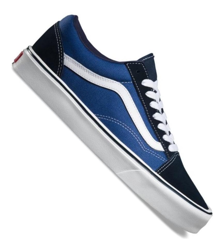 vans old skool azules hombre