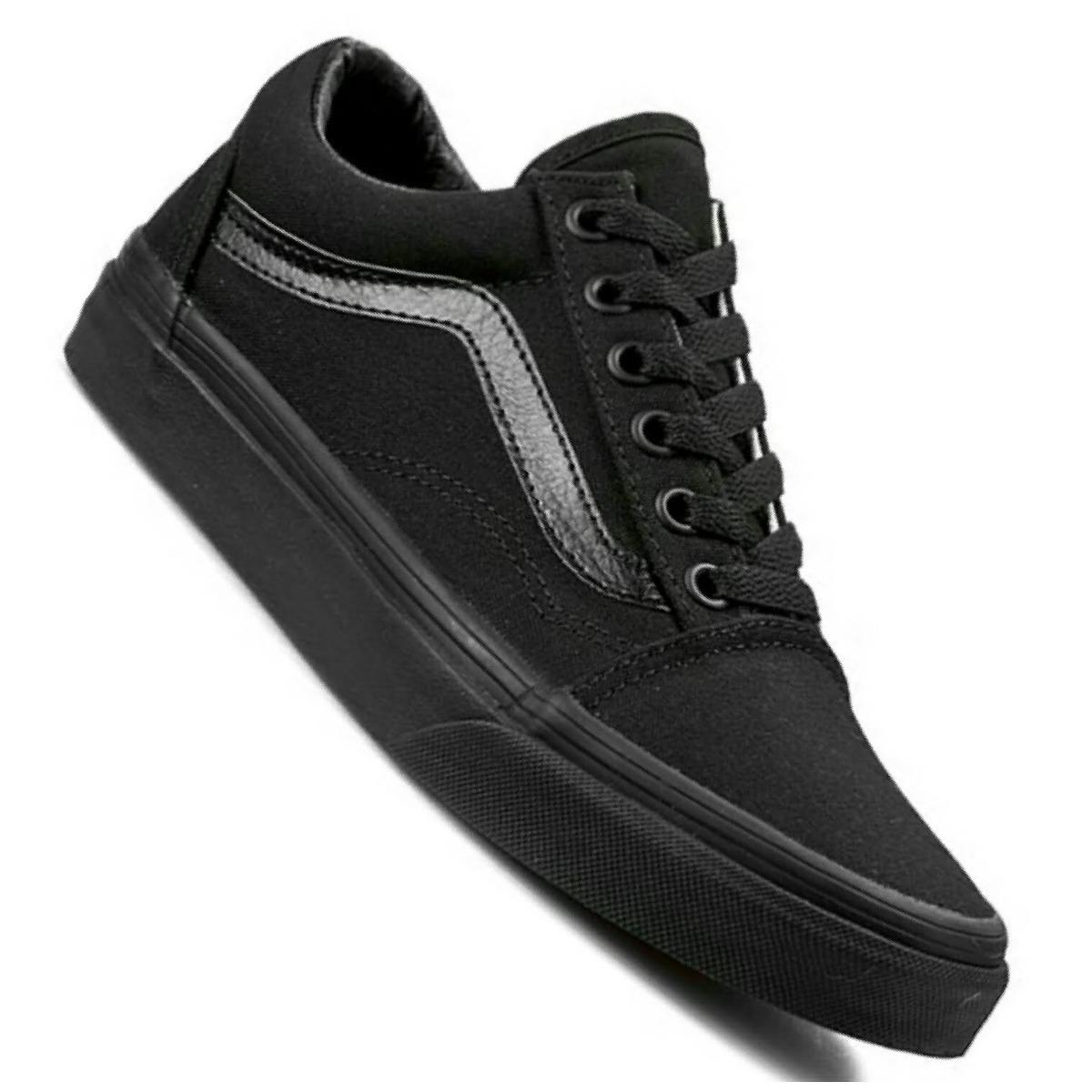 146e5224032 zapatillas vans old skool originales black black negro. Cargando zoom.