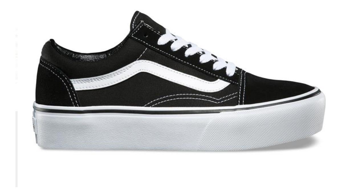 zapatillas vans negras mujer old skool