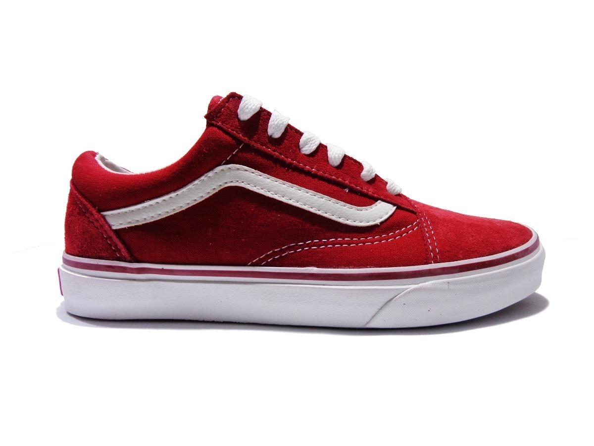 18278afba zapatillas vans old skool red white. Cargando zoom.