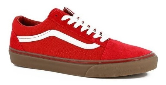 vans old school rojas mujer