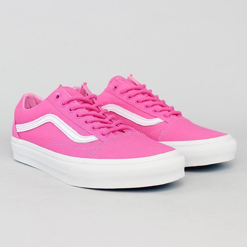 zapatillas vans rosas claro