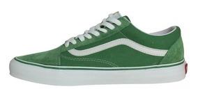 old skool vans verdes
