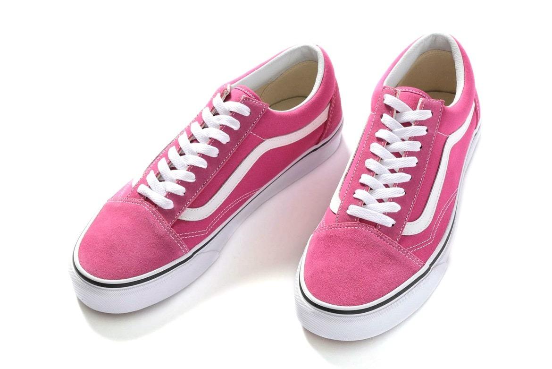 zapatillas vans rosas