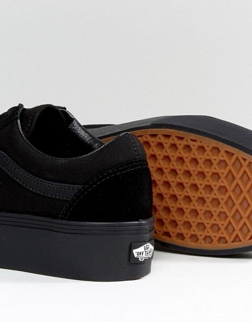 Zapatillas Vans Plataforma Monocromo -   2.510 4f34fe8615c