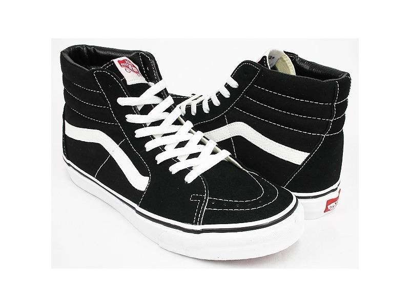 ab557d7a24e zapatillas vans sk8 hi black. Cargando zoom.