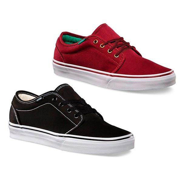 zapatoa de vans negro y blanco para niño