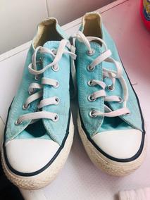 Zapatillas Verdes Agua Converse All Stars Originales