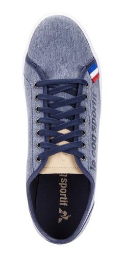 zapatillas verdon azul unisex le coq sportif original