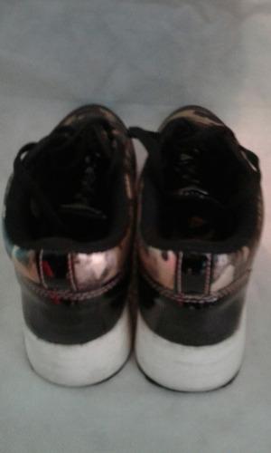 zapatillas vestir dama n 36 de la cruz en su caja original.