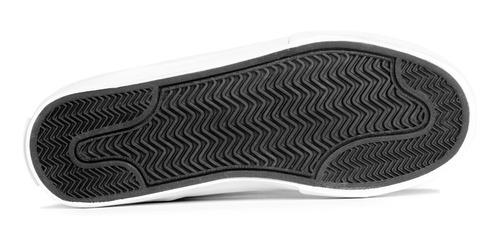 zapatillas vicus folk gamuza/lona negro