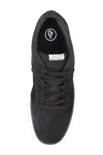 zapatillas volcom hombre - grimm mid 2 black