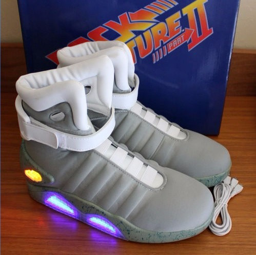 zapatillas volver al futuro 2 back to the future 2