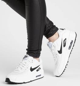 Nike Airmax 90 Negras Ropa y Accesorios Blanco en Mercado