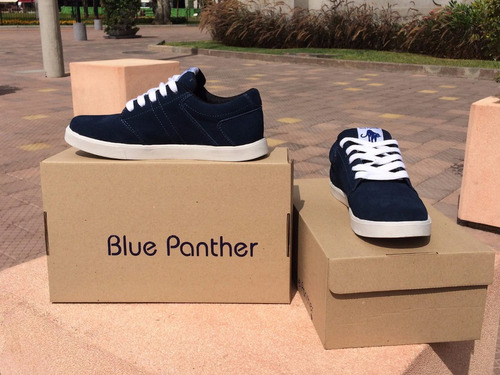 zapatillas x mayor y menor / blue panther