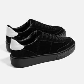 078e116e Zapatillas Negras De Mujer Zara en Mercado Libre Argentina