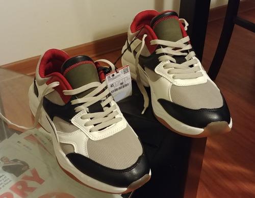 zapatillas zara man talla 43, nuevas y originales