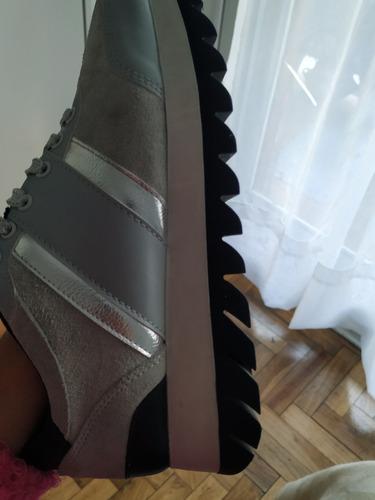 zapatillas zara(usa) mujer talle 36.5 nuevas