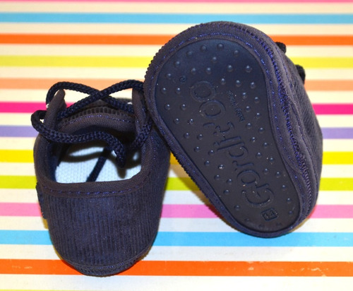 zapatito bebe gorditoo bautismo corderoy little treasure