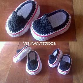 b4e7026cc Zapatito Bebe Crochet - Artículos para Bebés en Mercado Libre Argentina