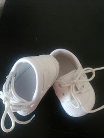 cc5f57ac6 Zapatitos Blancos De Bebe Talle 17 Y 18