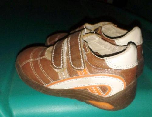 zapatitos de cuero para niños tipo kone