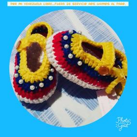 3629863ca17 Zapatitos De Bebe Tejidos En Crochet - Bebés en Mercado Libre Venezuela