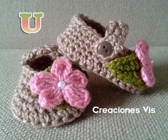 Zapatitos Divinos P/ Bebé Tejidos A Mano Crochet Más Modelos ...