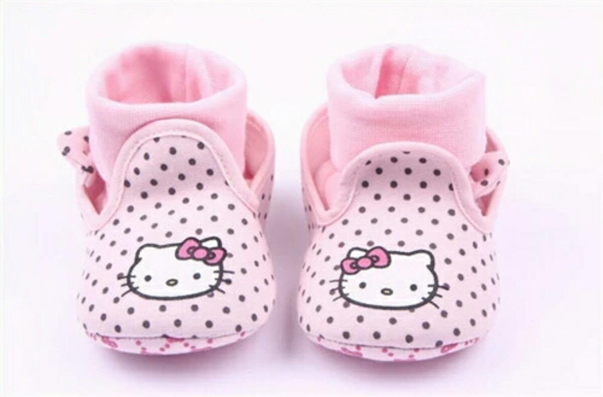 c7a085529a1 Zapatitos Para Bebe Niña Hello Kitty Envío Gratis -   270.00 en ...