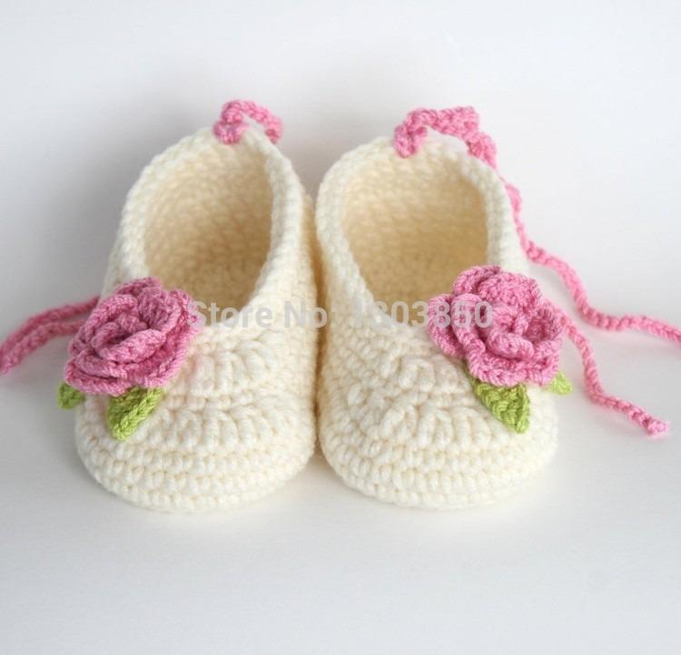 Zapatitos Tejidos A Mano Crochet Bebe Niños Adultos - $ 120.00 en ...