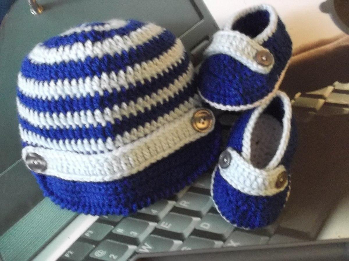 987b5a1de zapatitos y gorritos en juego tejidos a crochet para bebe. Cargando zoom.