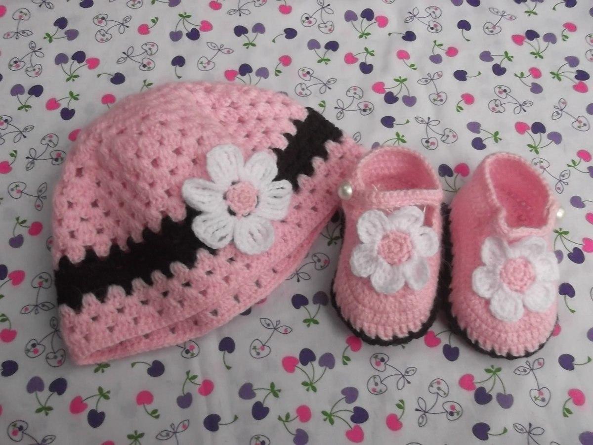 Zapatitos Bebe Tejidos A Crochet De Verano - Ropa para Bebes en ...