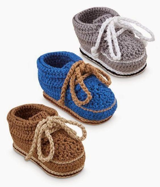 db8305f9b Zapatitos Zapatos Botas De Niño Bebe Tejidas Tejidos Varon - Bs. 0 ...