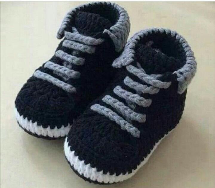fe1ab0da5 Botas Tejidas 0 Bs Varon Zapatos Niño Bebe De Zapatitos Tejidos CqBw5SW