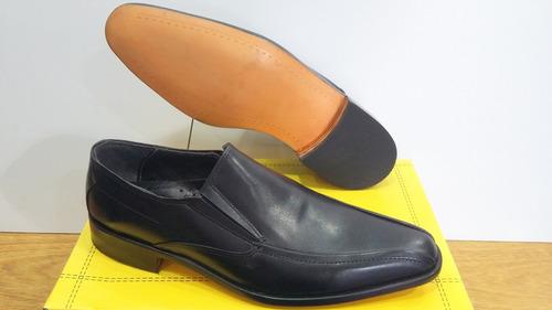 zapato 100% cuero di sarli art 6067 negro