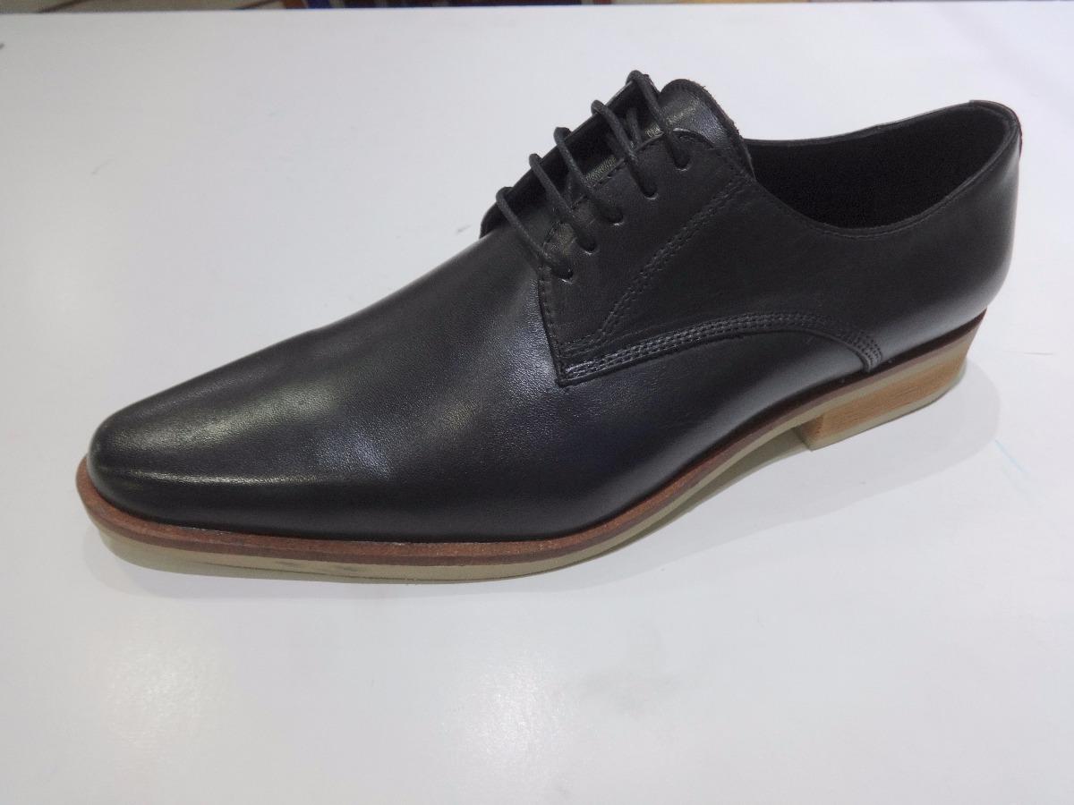 68549e89 zapato 100% cuero franco pasotti art donatelli negro-marron. Cargando zoom.