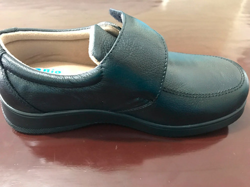 zapato 100% piel unico par talla 2.5 5mex
