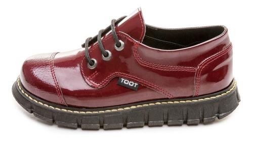 zapato abotinado toot cordon botin tractorado31 al 33 carito
