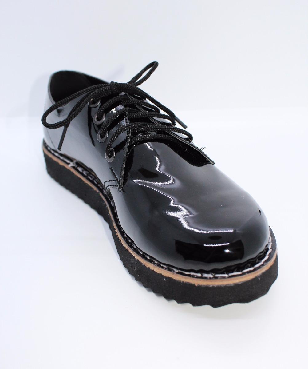 1a1883f450 zapato acordonado charol mujer otoño invierno 2018. Cargando zoom.