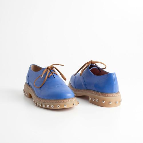 zapato acordonado puka azul. otro calzado