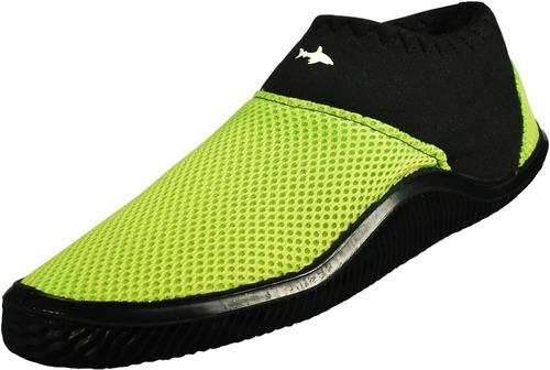 zapato acuatico escualo modelo tekk color amarillo