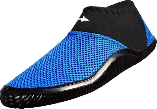 zapato acuatico escualo modelo tekk color azul
