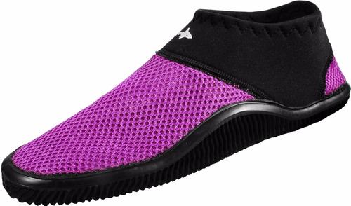 zapato acuatico escualo modelo tekk color morado