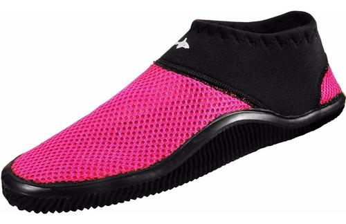 zapato acuatico escualo modelo tekk color rosa