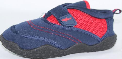 zapato acuatico niño marca koala kids modelo shark red