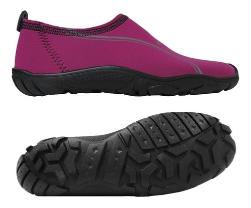 zapato acuático svago aqua lila/rosa + envio gratis